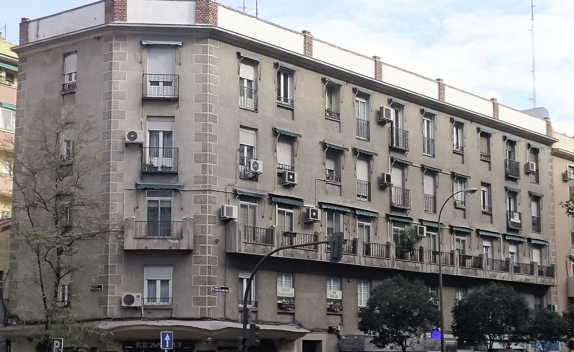 Ciudad de Barcelona, 105 en Madrid