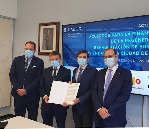 UCI y la EMVS de Madrid firman un acuerdo para favorecer la rehabilitación del parque de viviendas